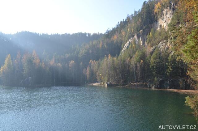 Pískovna - Adršpach - zaplavený lom