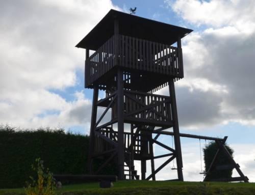 Vyhlídková věž Rtyně vPodkrkonoší