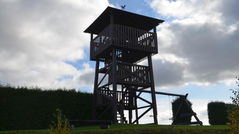 Vyhlídková věž Rtyně v Podkrkonoší