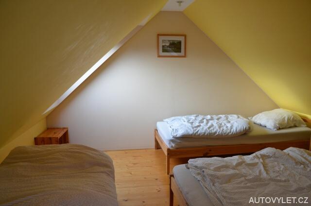 Ložnice - Apartmány Mladé Buky