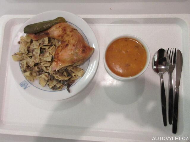 Oběd v menze - Čvut Praha