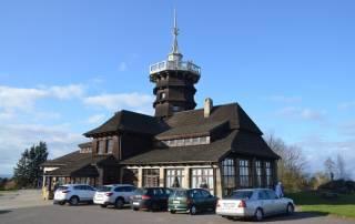 Rozhledna Dobrošov - Jiráskova chata u Náchoda