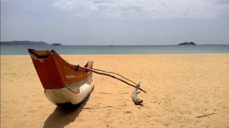 Srí Lanka pláž