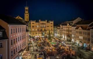 Vánoční trhy Žitava Německo