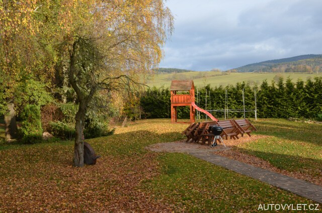 Zahrada - Apartmány Mladé Buky