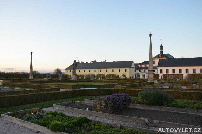 Zahrada - Zámek hospitál Kuks