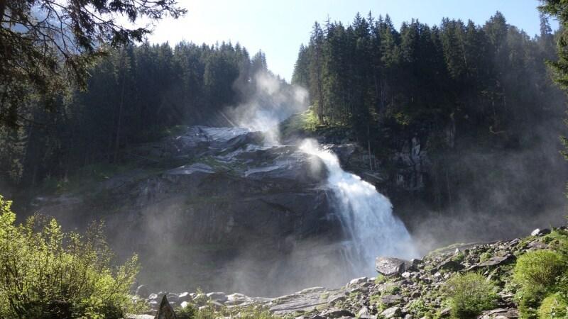 Krimmelské vodopády v Rakousku