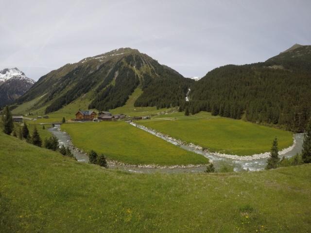 Krimmler Tauernhaus Rakousko