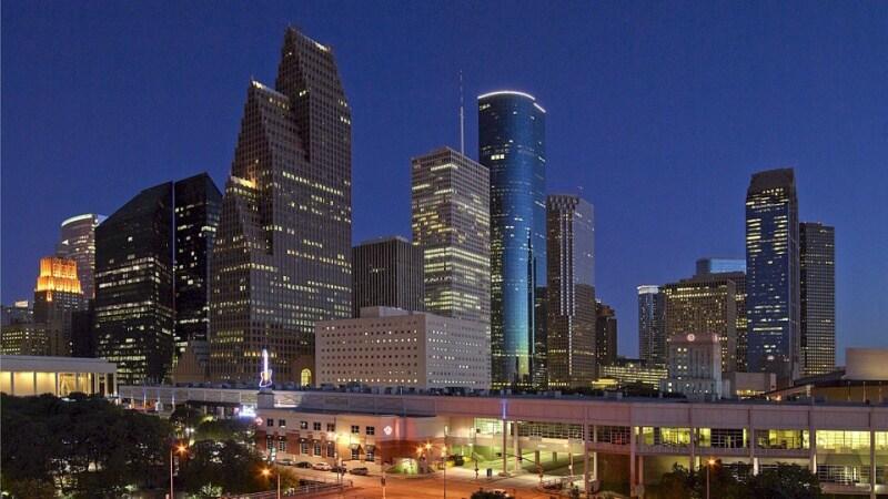 Město Houston - Texas USA