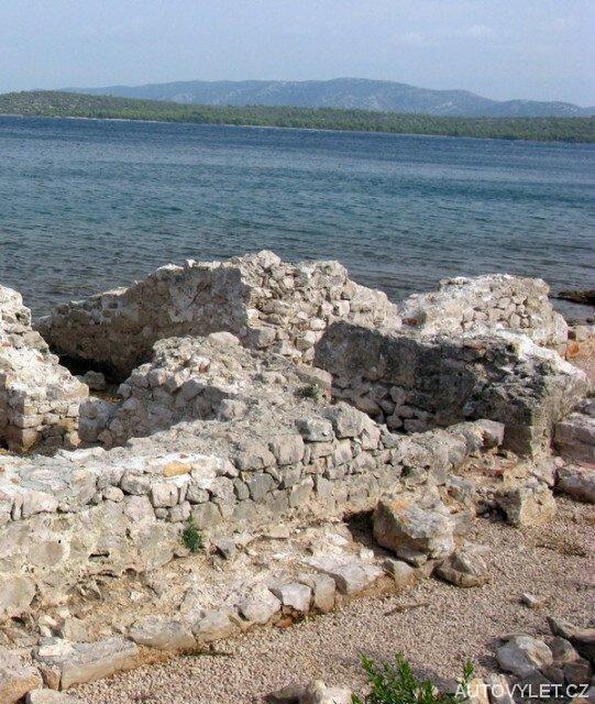 Murter Chorvatsko - vykopávky