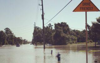 Povodně v Houstonu - Texas Usa