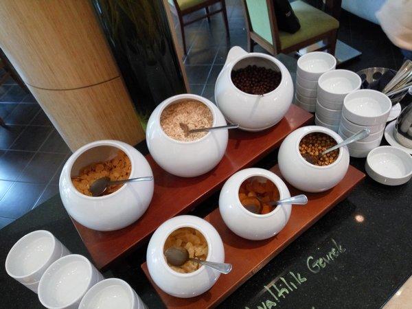 Snídaně v hotelu v Turecku