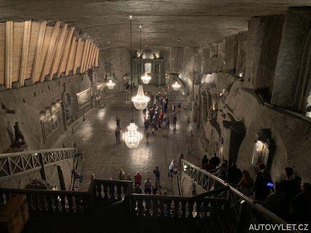 Solný důl Wieliczka v Polsku