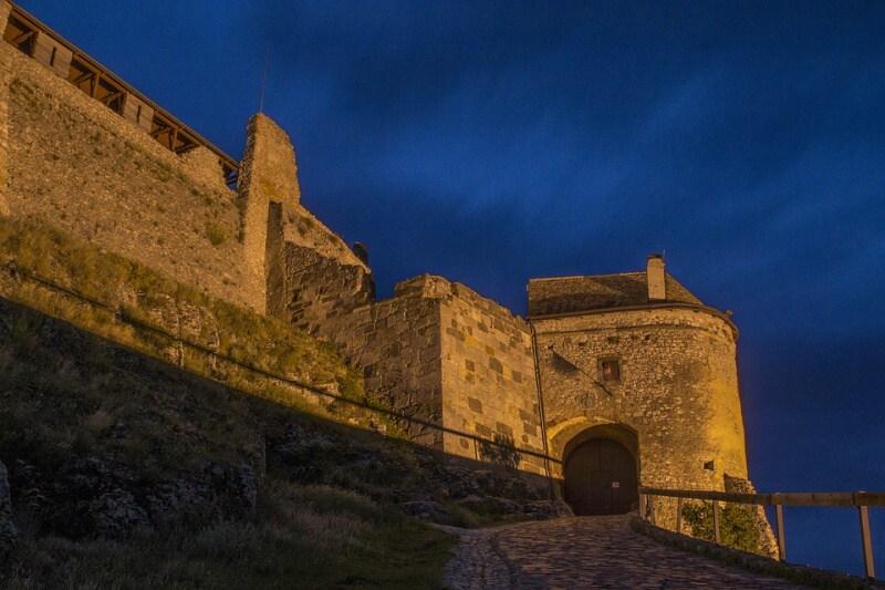 Sumeg hrad - Maďarsko