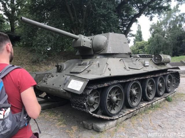 Tank v Polsku - park Cytadela