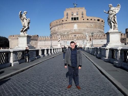 Andělský hrad - Řím Itálie