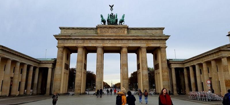 Braniborská brána - Berlín Německo