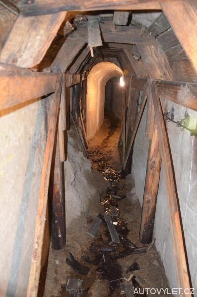 Jihlavské podzemí - původní chodba