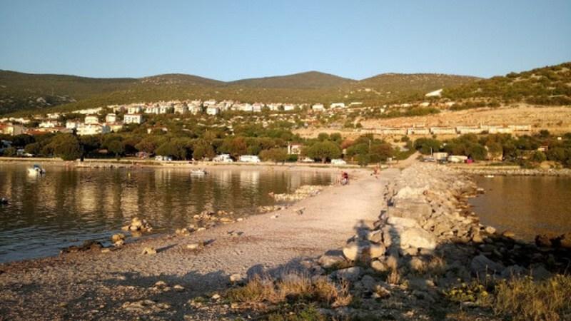 Klenovica Chorvatsko - pláž