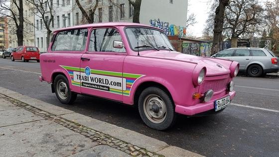 Trabant v Berlíně