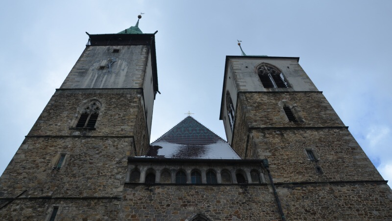 Vyhlídková věž kostela sv. Jakuba Většího - Jihlava