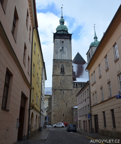Vyhlídková věž kostela sv. Jakuba Většího v Jihlavě