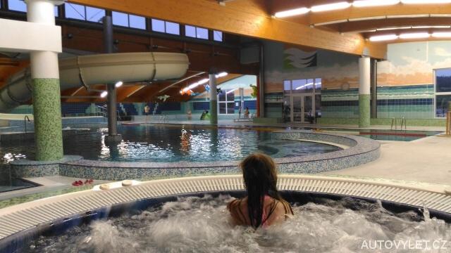 Aquapark - Wellness hotel Frymburk