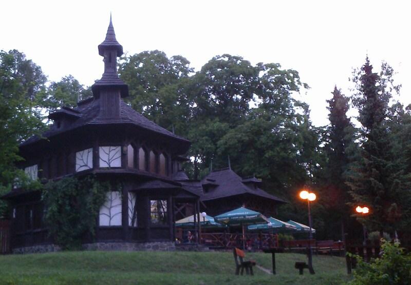 Lesní kavárna Kafáč Bílina
