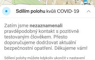 mapy.cz sdílení polohy covid19 - 4