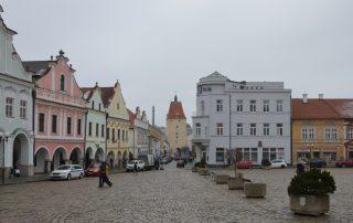 Město Pelhřimov - náměstí