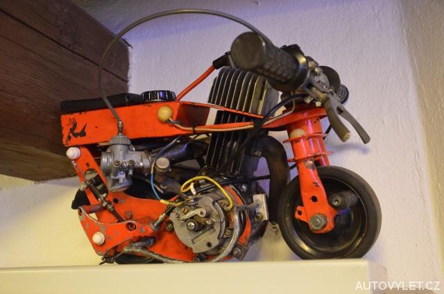 Nejmenší motorka ve Střední Evropě