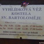Otevírací doba - Vyhlídková věž kostela sv. Bartoloměje – Pelhřimov