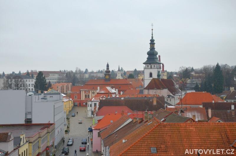 Vyhlídková věž kostela sv. Bartoloměje - Pelhřimov 2