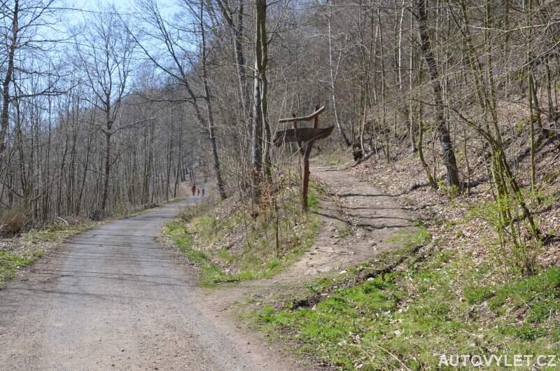 Cesta k vyhlídce U Laviček