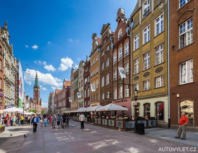 Gdansk Polsko - centrum