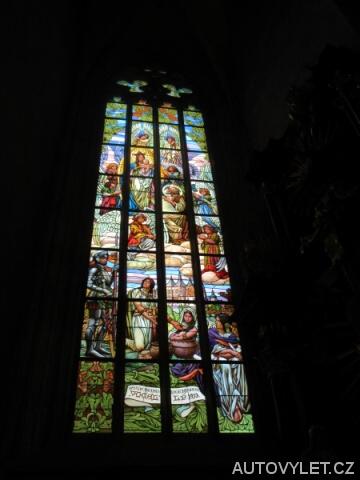 Interiér katedrály sv.Barbory