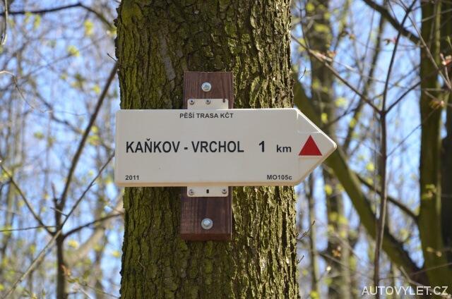 Kaňkov vrchol 1 km
