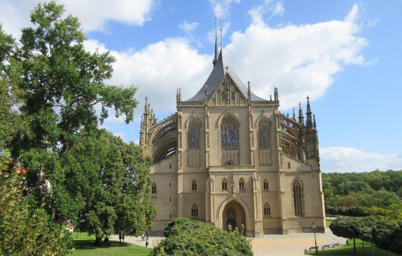 Katedrála svaté Barbory v Kutné Hoře
