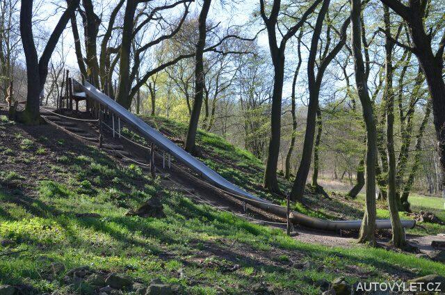 Klouzačka - pohádkový les Hrobčice