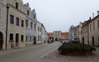 Město Slavonice - náměstí
