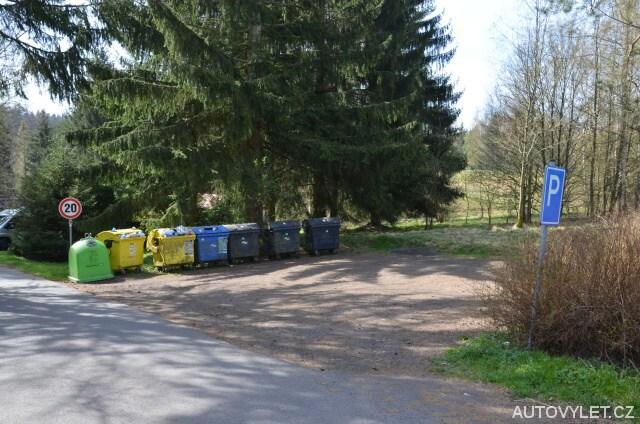 Neplacené parkoviště Jetřichovice