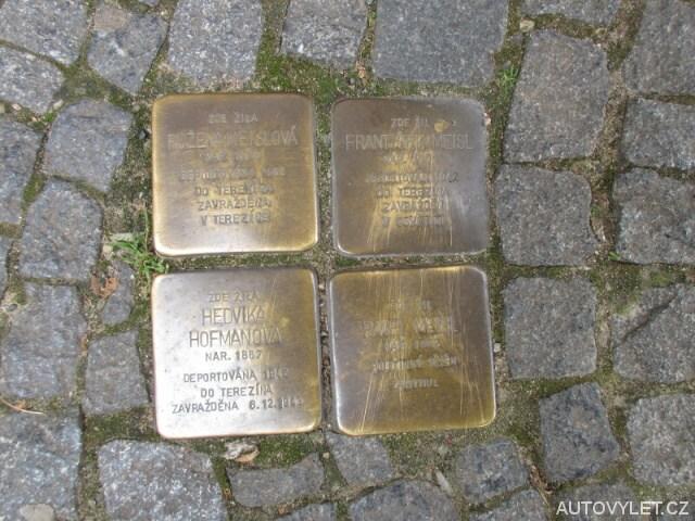 Pamětní kameny - Kolín