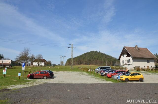 Placené parkoviště Jetřichovice