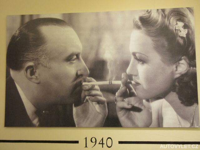 Reklama z roku 1940