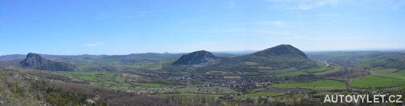 Vrch Kaňkov panorama