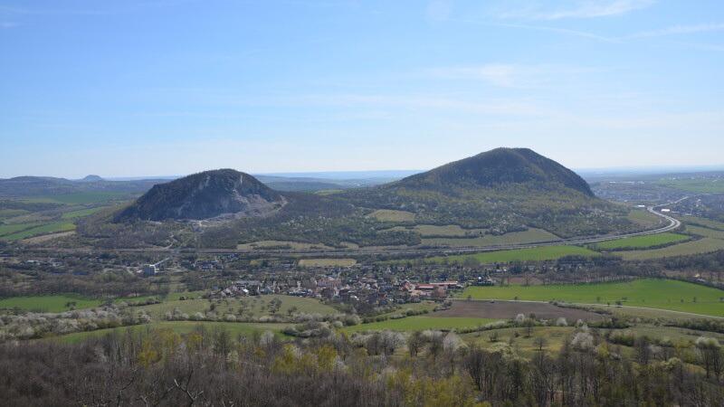 Výhled z vrchu Kaňkov
