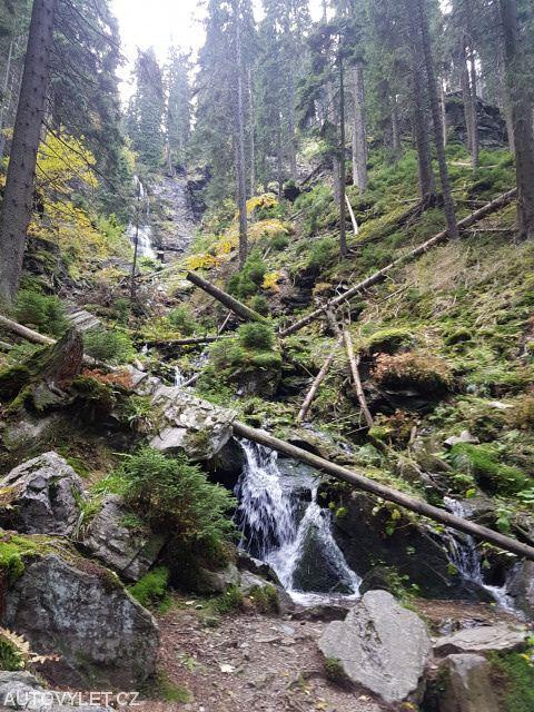 Vysoký vodopád - Jeseníky 2