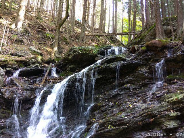 Vysoký vodopád - spodní část