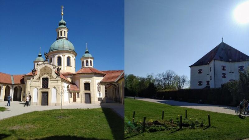 Břevnovský klášter a letohrádek Hvězda