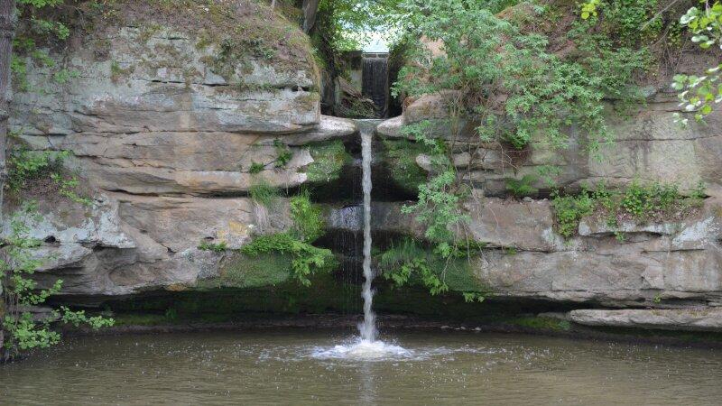 Dolanský vodopád